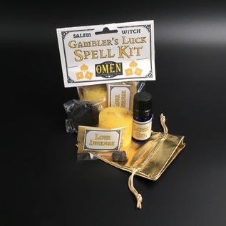 OMEN Salem Witch Gambler's Luck Spell Kit