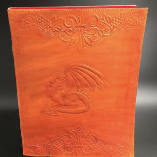 OMEN Large Dragon Journal in Orange