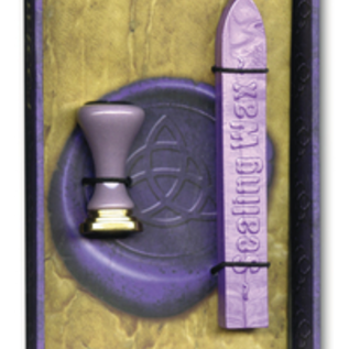 OMEN Wicca Sealing Wax [With Sealing Wax and Stamp Designs]