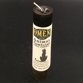 OMEN Animal Familiars Pillar Candle