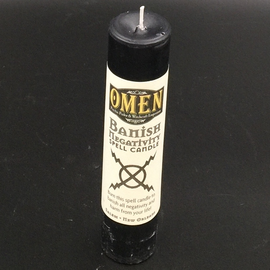 OMEN Banish Negativity Pillar Candle