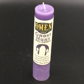 OMEN Ghost Hunt Pillar Candle