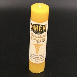 OMEN Healing Powers Pillar Candle