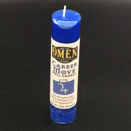 OMEN Career Move Pillar Candle