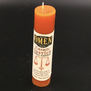 OMEN Cosmic Justice Pillar Candle