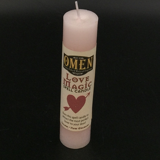 OMEN Love Magic Pillar Candle
