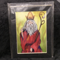 OMEN The Heirophant - Signed and Matted Tarot Print