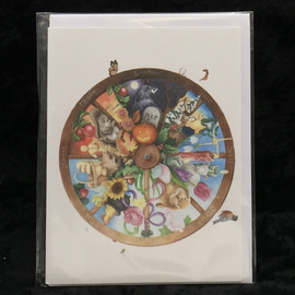 OMEN Wheel of the Year Greeting Card