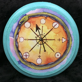 OMEN Ouroboros Wheel Wall Plaque - Small