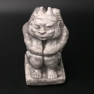 OMEN Seated Gargoyle with Horns
