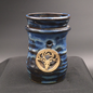 OMEN Oil Burner in Blue with Horned Stag