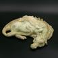 OMEN Sleeping Dragon Statue in Green