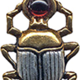 OMEN Scarab Amulet for Courage & Protection
