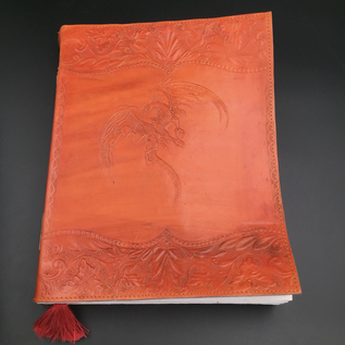 OMEN Large Flying Dragon Journal in Orange
