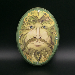 OMEN Greenman Wall Plaque - Large