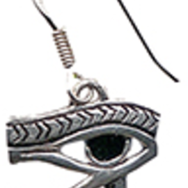 OMEN Eye of Horus Earrings for Health, Strength, and Protection