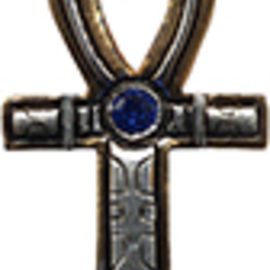OMEN Ankh Amulet for Health, Prosperity, & Long Life