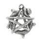 OMEN Wood Pentagram Pendant