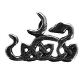 OMEN Celtic Snake Pendant