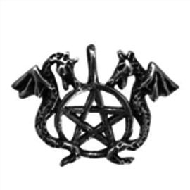 OMEN Dragon's Pentagram Pendant