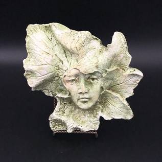OMEN Leaf Nymph Plaque