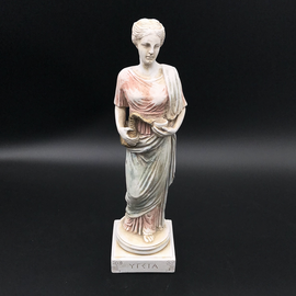 OMEN Sculpture statue Hygieia, Hygeia, Hygiea Ancient Greek Goddess of health