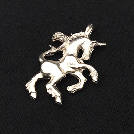 OMEN Mythical Unicorn Pendant in Sterling Silver