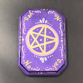 OMEN Gold Pentacle Pendulum Board