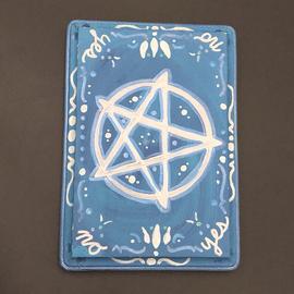 OMEN Silver Pentagram Pendulum Board