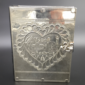 OMEN Small Book of Shadows Journal with Metal Cover