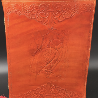 OMEN Large Owl Journal in Orange