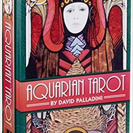 OMEN Aquarian Tarot in a Tin