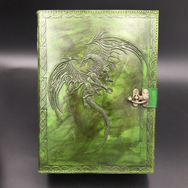 OMEN Small Flying Dragon Journal in Green