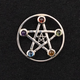 OMEN Double Pentacle with Mixed Stones