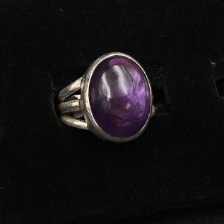 OMEN Amethyst Oval Ring