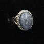 OMEN Oval Labradorite Ring