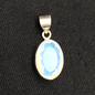 OMEN Faceted Opalite Sterling Pendant