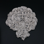 "OMEN Bacchus Dionysus Wine God Plaque 8 3/4"" x 9 1/2"""