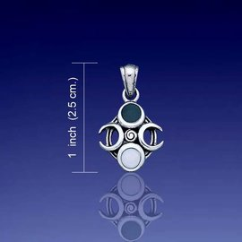 OMEN Phases of the Moon Pendant