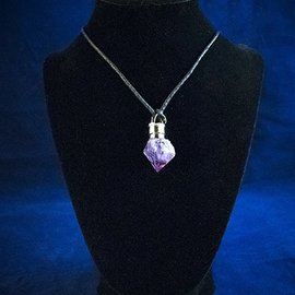 OMEN Firefly Pendant with Amethyst Quartz Point