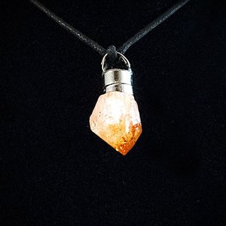 OMEN Firefly Pendant with Citrine Point