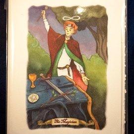 OMEN The Magician - Tarot Greeting Card