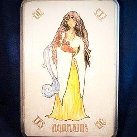 OMEN Aquarius Pendulum Board in Gold