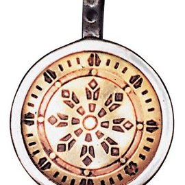 OMEN Wheel of Law Talisman for Health, Wealth, & Happiness