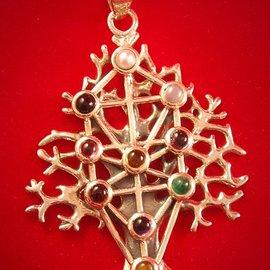 OMEN Kabbalah Tree of Life with Gems
