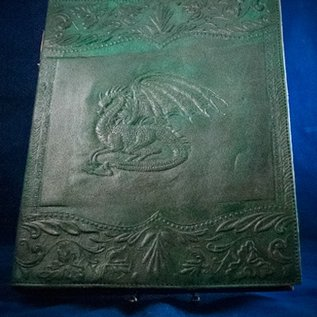 OMEN Large Dragon Journal in Green