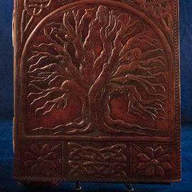 OMEN Large Tree of Life Journal in Brown