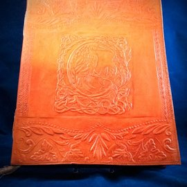 OMEN Large Raven Journal in Orange