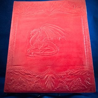 OMEN Large Dragon Journal in Red