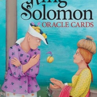 OMEN King Solomon Oracle Cards [With Instruction Booklet]